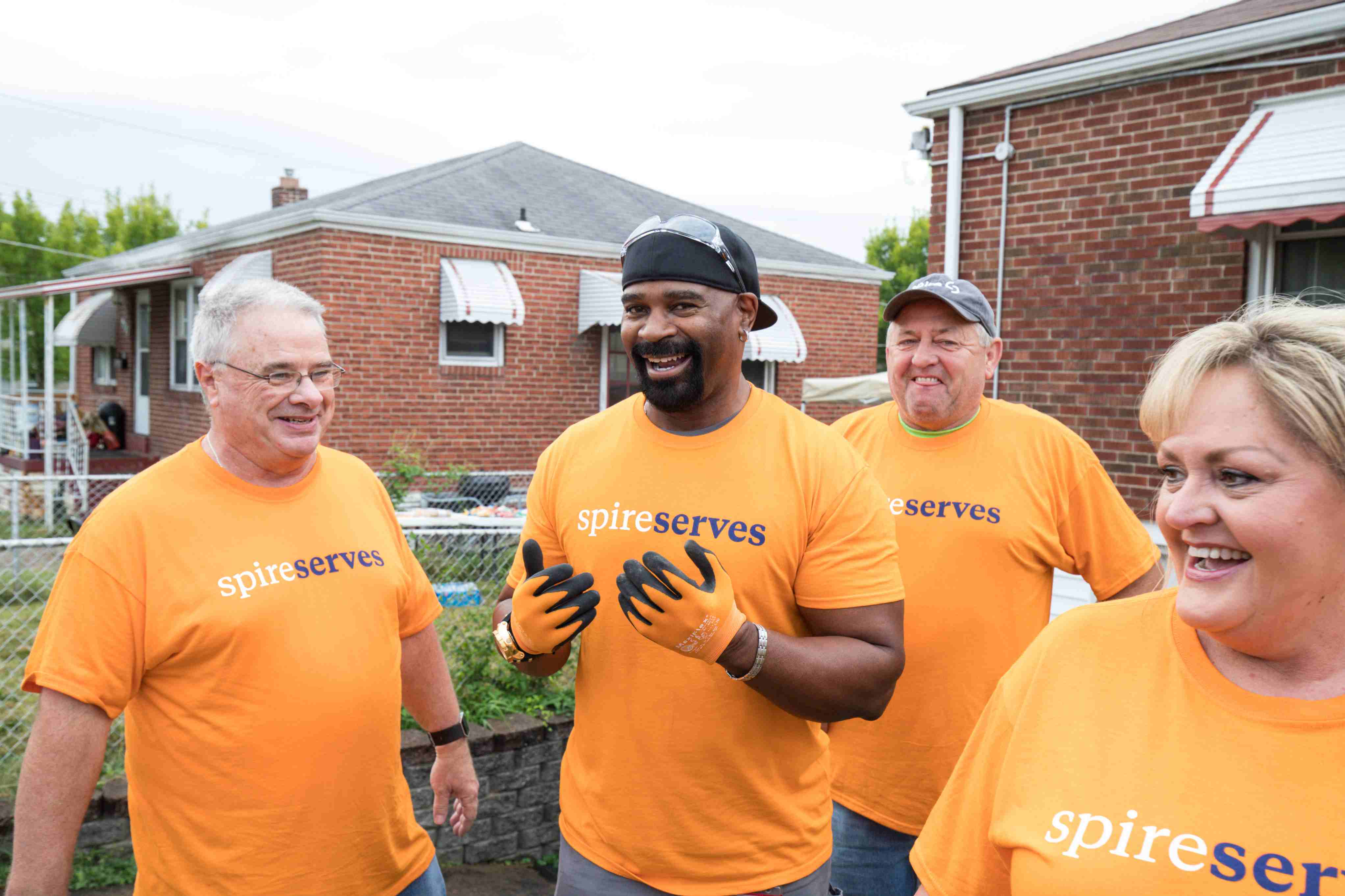 Spire employees giving back to those they serve